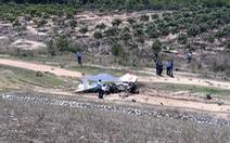 Bộ Quốc phòng thông tin vụ máy bay quân sự rơi ở Khánh Hòa