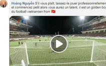 CĐV Pháp 'tò mò' về Nguyễn Công Phượng