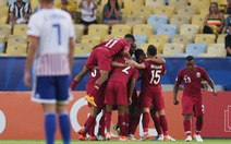 Qatar cầm hòa Paraguay sau khi bị dẫn trước 2 bàn