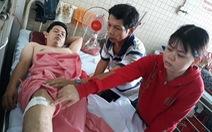 Đình chỉ hai nhân viên y tế vụ 'gãy đốt sống, khoan nhầm cẳng chân'