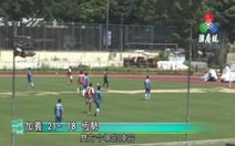 Cầu thủ Macau ghi 39 bàn trong một trận để phản đối liên đoàn bóng đá