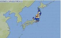 Nhật Bản cảnh báo sóng thần sau động đất mạnh 6,8 độ Richter