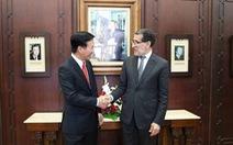 Ông Võ Văn Thưởng tiếp kiến Thủ tướng và Chủ tịch Quốc hội Morocco