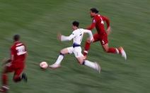 Son Heung Min bứt tốc 'thần sầu' nhưng Van Dijk đã... phá thành công