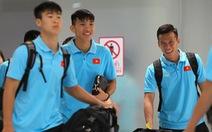 Tuyển VN đặt chân đến Thái Lan chuẩn bị cho King's Cup 2019