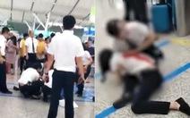 Bị lỡ tàu, khách nữ Trung Quốc đâm gục nhân viên xe lửa