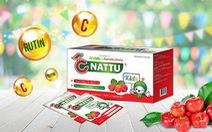 CNattu kids: sản phẩm từ Vitamin C tự nhiên và Rutin tự nhiên