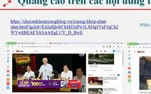 Thương hiệu Việt vi phạm pháp luật vì... YouTube