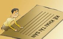 Yêu cầu xử lý nghiêm Trung tá thiếu trung thực trong kê khai lý lịch