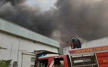 Cháy lớn ở nhà máy sản xuất đồ nhựa Khu công nghiệp Sóng Thần 2