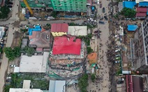 Sập công trình xây nhà ở Campuchia, bắt giữ 4 người Trung Quốc