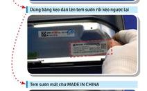 Điều tra: Thủ thuật xóa dấu vết 'made in China' của Asanzo