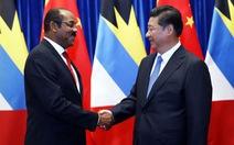 Trung Quốc lướt sóng Caribê