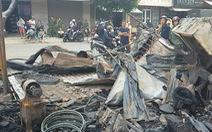 Lâm Đồng cháy lớn thiêu rụi 12 kiôt tại chợ Liên Nghĩa
