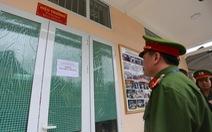 4 vòng bảo vệ, 200 cảnh sát trực chiến an ninh thi THPT quốc gia tại Hà Giang