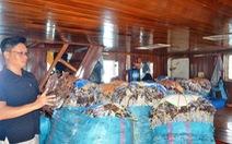 Mực khô không bán được sang Trung Quốc, ngư dân lo héo hon