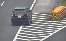 Nữ tài xế lùi xe trên cao tốc Hà Nội - Hải Phòng bị phạt 1 triệu đồng