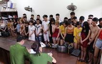 39 nam thanh nữ tú dương tính với ma túy trong quán karaoke
