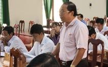 Nguyên phó chủ tịch huyện từ chức sau khi được điều làm bí thư xã