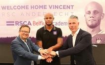 Trung vệ Kompany bất ngờ trở thành HLV Anderlecht