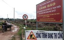 Trắng tay vì dự án 'ma': Lấy luôn đất Nhà nước phân lô bán nền