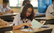 Thiếu mã đề, thí sinh một điểm thi TP.HCM làm bài sinh chậm 15 phút