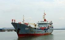 Hải đoàn 129 tiếp nhận tàu vận tải quân sự