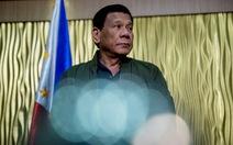 Các nghị sĩ đòi luận tội Tổng thống Duterte về phát ngôn 'bảo vệ' Trung Quốc