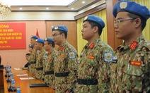 Thêm 7 sĩ quan Việt Nam đi làm nhiệm vụ gìn giữ hòa bình Liên Hiệp Quốc