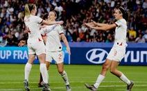 Video diễn biến chính trận tuyển Anh đè bẹp Na Uy 3-0 ở tứ kết World Cup 2019