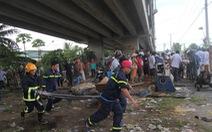 Vụ 2 ôtô rơi từ cầu Hàm Luông: Thêm 2 nạn nhân tử vong