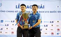 Như Thuật và Văn Quyến đưa Sông Lam Nghệ An vô địch U15 quốc gia 2019