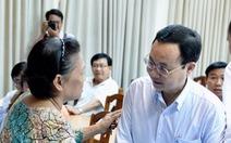 Cử tri quận 2 mong sớm giải quyết quyền lợi cho người dân Thủ Thiêm