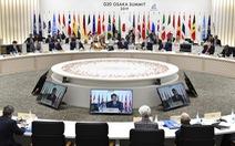 Kết thúc G20: Kêu gọi xây dựng môi trường thương mại 'tự do, công bằng, không phân biệt'