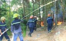 Flycam cháy rừng thông ở Hồng Lĩnh, di dời khẩn cấp nhiều hộ dân