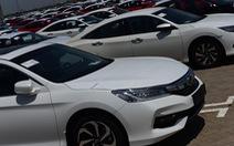 Hơn 50% xe hơi nhập khẩu từ Thái Lan