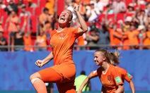 Video Hà Lan thắng Ý 2-0 ở tứ kết World Cup nữ 2019