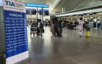 Trước ngày sân bay Tân Sơn Nhất 'tắt tiếng' loa phát thanh, hành khách nói gì?