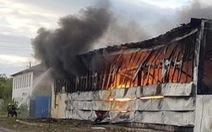 Cháy chợ người Việt ở thành phố bên Nga