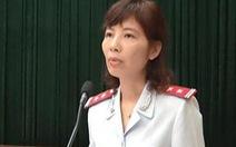 Chưa có kết luận điều tra 'bà Kim Anh nhận hối lộ hay vòi tiền'