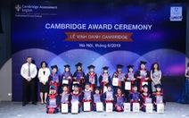 Apollo English vinh danh học viên đạt chứng chỉ Cambridge