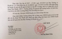 Kỷ luật Đảng nguyên trưởng Công an huyện Trảng Bom