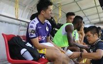 Đình Trọng đứt dây chằng chéo, chia tay đội tuyển lẫn V-League 2019