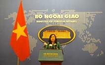 Việt Nam phản đối sách giáo khoa Trung Quốc xuyên tạc chủ quyền ở Biển Đông