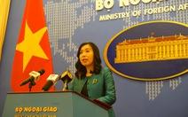 Trung Quốc phóng tên lửa ở Trường Sa, Việt Nam đề nghị tôn trọng luật biển