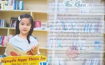 Trường thay giấy khen bằng thư khen khiến học trò, cha mẹ rưng rưng