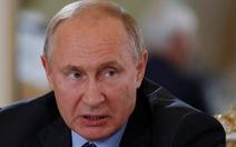 Tổng thống Putin: Nga bỏ xa các đối thủ trong chế tạo vũ khí siêu thanh