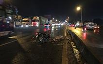 Chạy xe máy vào làn ôtô,  tông đuôi xe tải, thanh niên 21 tuổi chết tại chỗ