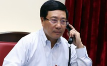 Bộ trưởng Phạm Bình Minh viết Twitter chia buồn với gia đình các nạn nhân vụ 39 người chết