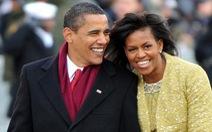Vợ chồng ông Obamahợp tác sản xuất cho Spotify